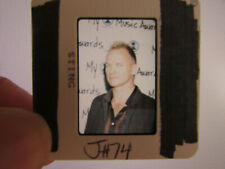 More details for original press photo slide negative - sting - 1990's - n - the police