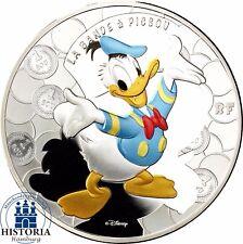 France 10 Euro Argent Picsou Duck 2017 Argent Pièce Polie Plaque dans étui