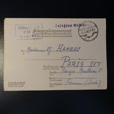 LETTRE PRISONNIER DE GUERRE STALAG II D 01.09.1942 KRIEGSGEFANGENENPOST POW