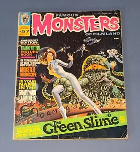 FAMOUS MONSTERS OF FILMLAND #57 SEPT 69 Vampires Green Slime Frankenstein GOOD-