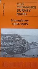 OLD ORDNANCE SURVEY MAPS MEVAGISSEY CORNWALL 1894-1905 Sheet 353