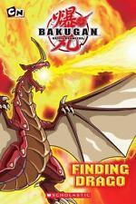 Bakugan: Finding Drago, West, Tracey, 0545131200, Book, Good