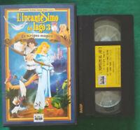 VHS Film Ita Animazione L'INCANTESIMO DEL LAGO 3 Lo Scrigno Magico no dvd(V128)°