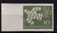 German West 1961 Europa Cept 10Pfg marginal imperforate unmounted/unhinged mint