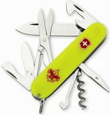 Victorinox Swiss Army Boy Scouts Of America Climber Stayglow 91mm Clam Pak 54389