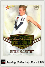 2016 AFL Future Force Trading Card Sheehan Select SS20 Mitch Mccarthy