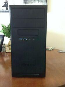 Antec NSK3100 microATX/miniITX matte black, SECC steel case