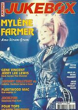 MAGAZINE - JUKEBOX : MYLENE FARMER JERRY LEE LEWIS GENE VINCENT, JOHNNY HALLYDAY