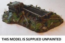 WWII JAPANESE LMG POSITION WITH TRENCH RESIN MODEL KIT -  20MM - MS29