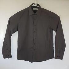 Mens Mattino L/S Black Shirt SIZE S