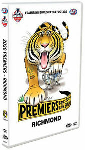 AFL Premiers 2020 Richmond Tigers Grand Final BRAND NEW DVD IN STOCK NOW