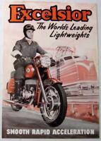 EXCELSIOR Lightweights 1959 11.58 Original Motorcycle Sales Brochure