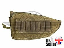 Airsoft Rifle Stock Pouch - Tan