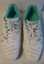 Asics Gel Game White/Light Green Tennis/Sports Ladies Trainers