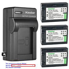 Kastar Battery Wall Charger for Sony NP-FH50 & Sony Cyber-shot DSC-HX1 DSC-HX100