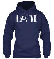 Dairy Cow Love - Gildan Hoodie Sweatshirt