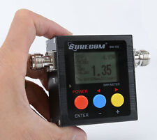 New Portable surecom SW-102 Power & SWR Meter for FT-2800 YAESU FT-8900 Radio