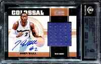 John Wall 2010-11 National Treasures Rookie Patch Auto #/10 BGS 9/10 True RPA RC