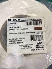 BRADYl Gloss Metallized Polyester Labels  THT-17-434-3 (3000 / Roll)