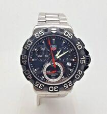 Tag Heuer Formula 1 Chronograph Gents Watch - Steel Bracelet - CAH1110 (6557T)