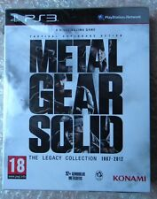 METAL GEAR SOLID THE LEGACY COLLECTION 1987 2012 NL EDITION