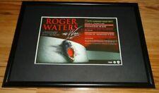 ROGER WATERS 2011 tour-framed original press release promo poster