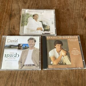 Daniel ODonnell CD Bundle X3 At the End of the Day, Irish Album Boy From Donegal