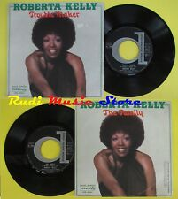 LP 45 7'' ROBERTA KELLY Trouble maker The family 1976 italy DURIUM cd mc dvd**