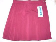 "Gymphlex Girls/Ladies Bordeaux School Gym Kilt/Skirt w30"" 14+ Yrs-New!"