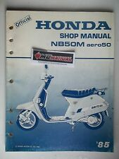 NB50M 1985 NB50M Aero50 NB 50 M Service Shop Repair Manual - NOT A COPY 2386