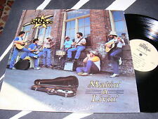 Small Label/ Private Issue TEXAS Swing/ Bluegrass LP THE SHOPPE Making' a Livin'