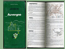 guide   MICHELIN   1982   AUVERGNE     190 pages