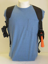 """Gun Shoulder Holster for 4"""" REVOLVERS with AMMO POUCHES"""