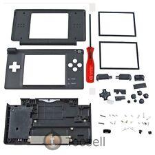 Black Housing Case For Nintendo DS Lite NDSL Hinge US