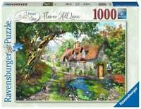 Ravensburger Flower Hill Lane 1000 Piece Jigsaw Puzzle Brand New and Sealed