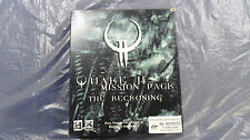 Rare PC game Quake II The Reckoning 1998 id Software big box Mission Pack Win 95