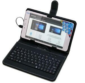 Universel 7Pouces Housse en Cuir avec Micro USB Clavier Pour Tablette