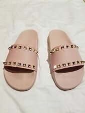 Authentic Valentino PInk Slides -  pvc sandal 3405 pink size 8b - 212 3295