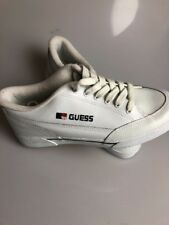 Vintage Guess Shoes Womens 9 Old Stock White Sneakers Deadstock New Mom Shoes