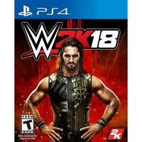 WWE W 2K18 PS4 SONY PLAYSTATION 4 SMACK DOWN 2018 NUOVO SIGILLATO ITALIANO