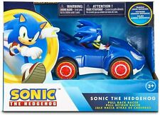 Sonic the Hedgehog Toys SEGA Racing Pull Back Speed Racer Large Size Toy Car