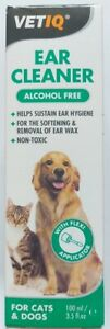 VetIQ Ear Cleaner Solution for Dogs and Cats 100ml