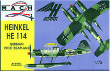 Mach 2 1/72 Heinkel He114 # 2172
