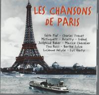CD LES CHANSON DE PARIS  2929