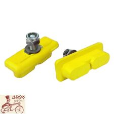 KOOLSTOP CONTINENTAL YELLOW THREADED BRAKE PADS-FOR SKYWAY-ACS MAG WHEELS