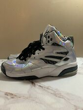 vintage la gear light up sneakers shoes Silver Gray Lace Up  Size 9.5