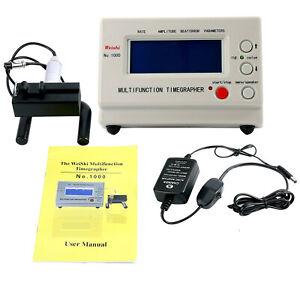 Multifunction Zeitwaagen Watch Timegrapher Nr.1000 Timing Calibration Machine EU