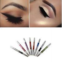 8pcs Waterproof Long-lasting Eyeshadow Pencil Glitter Eye Shadow Eyeliner Pen