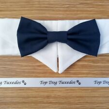 Handmade Dog/Cat Bowtie Collar~ S/M/L ~ Wedding/Party/Ring Bearer/Christmas