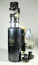 Vintage Leitz Wetzlar Brass Microscope + 3 Zeiss Accessories